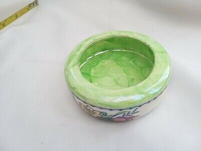 Maling Pottery Lustre Ware Green Ash Tray Or Small Bowl In Good Condition  • 12.99£