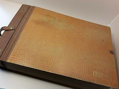 Vintage French 1950's Wallpaper Sample Book H.G  Social History Complete • 175£