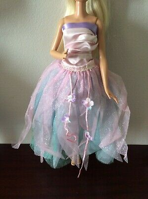 Barbie Swan Lake Fairy Queen Collectors Dress Clothes Fashion Gown Outfit • 7.50£