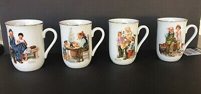 $ CDN28.69 • Buy Norman Rockwell Museum For Mint Coffee Mugs Cups Mint Condition