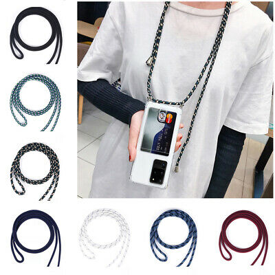 AU9.34 • Buy Clear Phone Case+Card Holder Lanyard Crossbody Cover For IPhone12 Pro/11,Samsung
