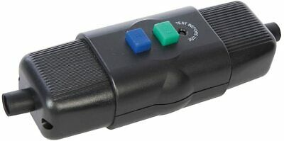 Power Master 469272 In- Line Active Outdoor RCD 16A 230V~ 50Hz, Black • 11.83£