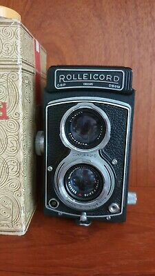 View Details Rollei Rolleicord Vb Type 1 Medium Format Twin Lens Reflex (TLR) Camera • 750.00£
