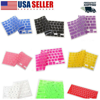 $1.79 • Buy Silicone Keyboard  Cover For Apple Macbook Pro Air 13  15  17  2015 Or Older