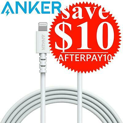 AU11 • Buy Anker PowerLine Select USB C To Lightning Charging Cable IPhone IPad White 0.9m