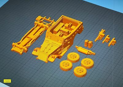 $20.32 • Buy M3a1 M3 Scout Car Mid ~ 3d Printed ~ 1:30 1/35 1:43 1/72 1/87 1:100 1:200 *1652