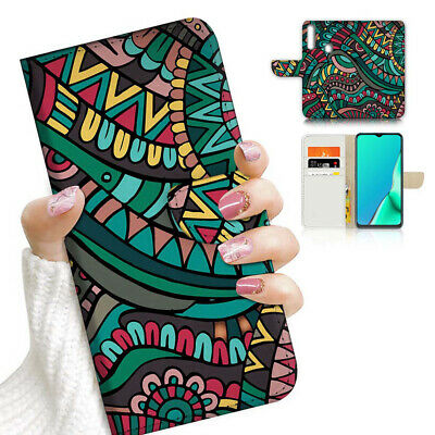 AU12.99 • Buy ( For Vivo Y12 / Y15 / Y17 ) Wallet Case Cover AJ23906 Abstract