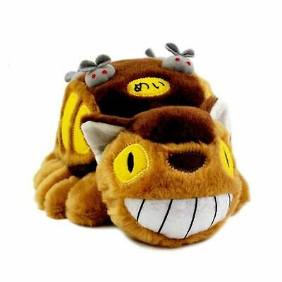 12  My Neighbor Totoro Cat Bus Plush Doll Catbus Soft Toy Stuffed Pillow Gifts • 8.53£