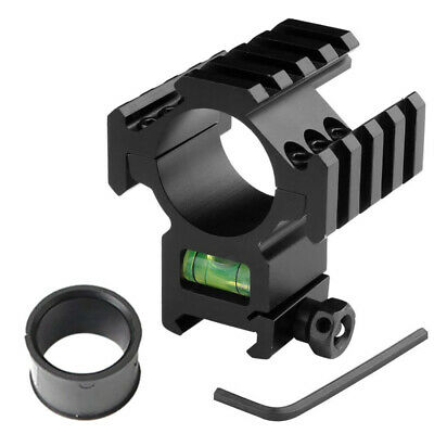 Scope Barrel Mount 25mm & 30mm Ring Adapter With 20mm Weaver Picatinny Rail • 6.89£