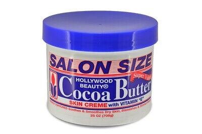 Hollywood Beauty Cocoa Butter Skin Creme With Vitamin E - SALON SIZE 25oz (708g) • 9.99£