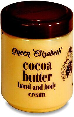 Queen Elizabeth Cocoa Butter | Soothes And Softens Hand And Body Cream Jar 500ml • 6.49£