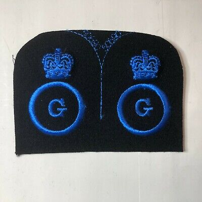 WRNS Womens Royal Naval Service Steward Cloth  Badge Patch Uncut Pair • 12.84£