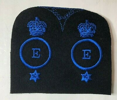 WRNS Womens Royal Naval Service Educational Assistant Badge Patch Uncut Pair • 12.84£