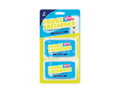 Fridge Freshener 2 Pack - Fresh Odour Remover Deodoriser Air Kitchen Clean Home • 2.49£