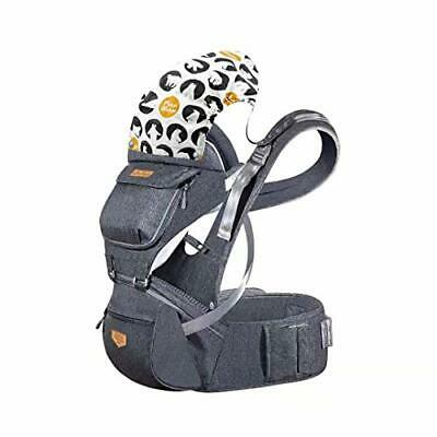 JooBebe Baby Carrier Hip Seat Detachable Breathable Ergonomic Hipseat Baby • 55.99£