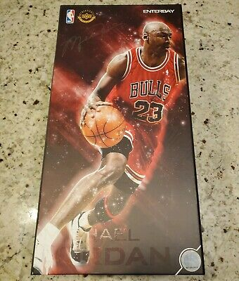 $515 • Buy Enterbay Michael Jordan Figure Series 1 Legend Real Masterpiece Road Version NIB