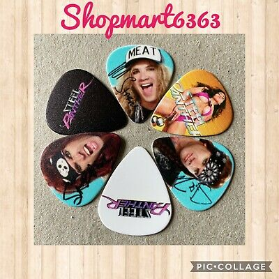 $ CDN8.95 • Buy 🎸 Lot Of 6 Steel Panther Limited Edition 🎸 Guitar Picks Brand New 🎸#249