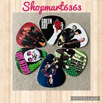 $ CDN8.95 • Buy 🎸 Lot Of 6 GREEN DAY Limited Edition 🎸 Guitar Picks Brand New 🎸#253