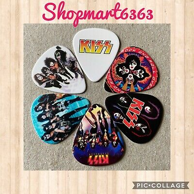 $ CDN8.05 • Buy 🎸 Lot Of 6 KISS Limited Edition 🎸 Guitar Picks Brand New 🎸#255