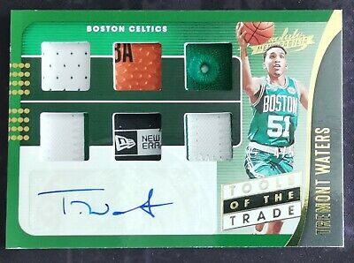 AU74.95 • Buy 2019-20 Absolute Tools Of The Trade Tremont Waters 🍀#4/5🍀RC 6 Swatch Auto RPA