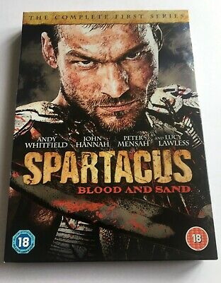 £5 • Buy Spartacus - Blood And Sand: Series 1 DVD (2011) Andy Whitfield Cert 18 4 Discs