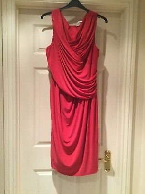 Great Red Dress And Jacket By Chesca Size  20  • 10£