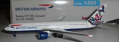 $30 • Buy Herpa 1:500  British Airways  777-200     -   506502   Canada