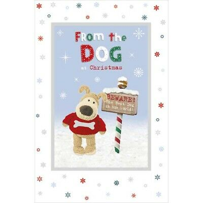 Cute Boofle Christmas Card From The Best Dog In The World • 3.49£