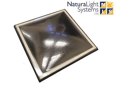 £168.39 • Buy Dome Rooflight/Polycarbonate/Skylight For Flat Roofs Double Skin 900mm X 900mm