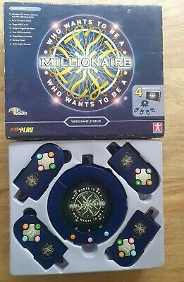 Who Wants To Be A Millionaire Plug And Play TV Game Video Game System Great Fun • 9.99£