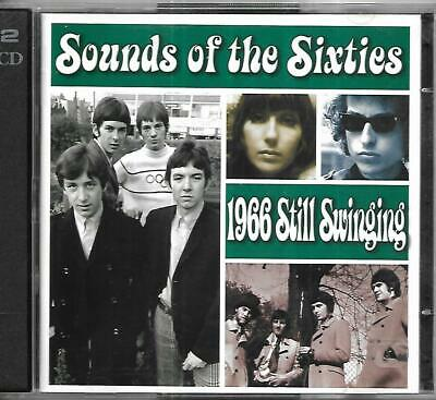 Time Life - Sound Of The Sixties - 1966 Still Swinging - 2 CD Set • 15£