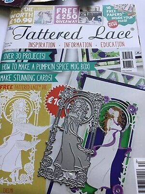 Tattered Lace Magazine No. 34     Complete • 6.99£