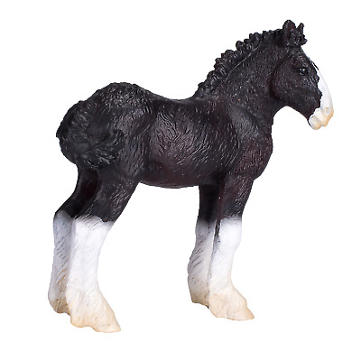 Mojo SHIRE FOAL HORSE Toy Models Figures Kid Girls Plastic Animals Farm Figurine • 7.95£