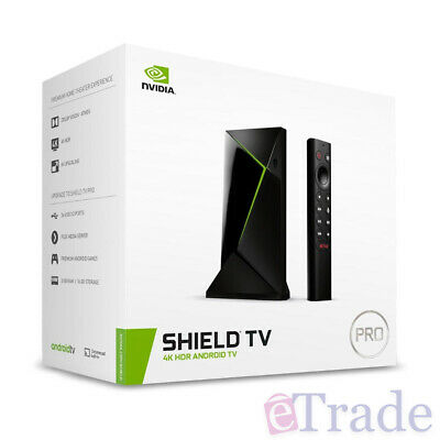 AU352 • Buy NVIDIA Shield TV PRO 16GB 4K Streaming Media Player WiFi Bluetooth With Remote