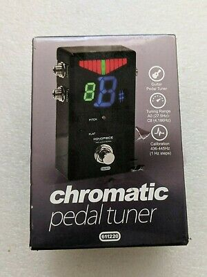 $ CDN46.67 • Buy Monoprice Chromatic Tuner Pedal Electric Guitar Heavy Duty Metal Construct