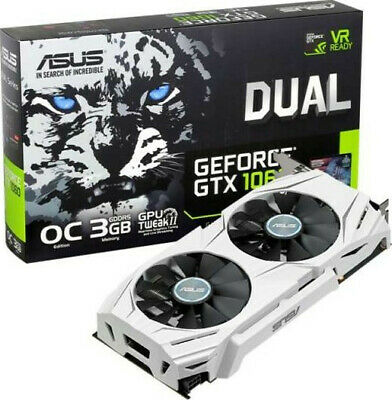 $ CDN177.63 • Buy ASUS Geforce GTX 1060 3GB Dual Fan Graphics Card |
