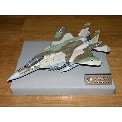 1:100 Scale F-15 F-15I Ra'am Aircraft 3D Paper Model DIY Military Creative Toy • 9.99£