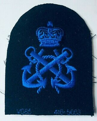 WRNS Womens Royal Naval Service Petty Officer Uniform Badge Patch V085  • 9.63£