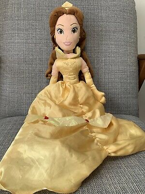 DISNEY STORE PRINCESS Beauty And The Beast / Belle 20  LARGE PLUSH SOFT DOLL TOY • 3.70£