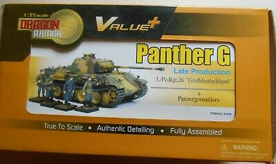 DRAGON VALUE +1 35th 61039 PANTHER G LATE BASTOGNE WITH FIGURES IDEM TAMIYA  • 109.52£