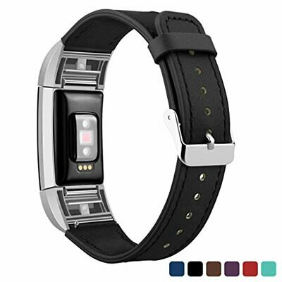 AU43.16 • Buy Fitbit Charge 2 Band Leather Strap, Kutop Classic Sports Soft Replacement Band A