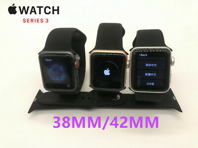 $ CDN291.93 • Buy Apple Watch Series 3 38mm 42mm GPS + WiFi + Cellular Smart Tested Great Cond