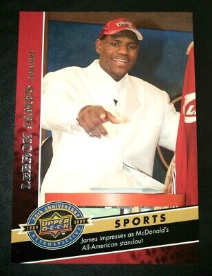 AU8.50 • Buy LEBRON JAMES Upper Deck 2009 Draft Pick Rookie NBA Basketball Card