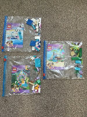 LEGO FRIENDS ANIMAL SETS Series 4 - 41041 41042 41043 Bundle All 100% Complete • 4.50£