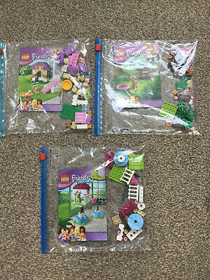 LEGO FRIENDS ANIMAL SETS Series 3 - 41023 41024 41025 Bundle All 100% Complete • 4.50£