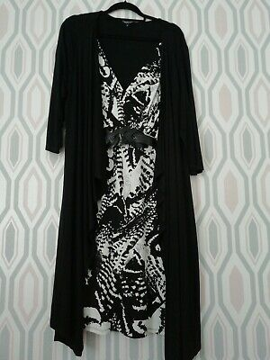 Gorgeous Ladies 2 In 1 Dress And Jacket Size 22 From Debenhams • 5£