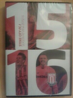 SCFC Stoke City FC Season Review 2015/16 (football / Sport) NEW & SEALED UK DVD • 10.99£