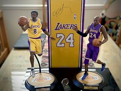 $799.99 • Buy Enterbay Real Masterpiece Kobe Bryant Rookie And Black Mamba Figure Set!!!