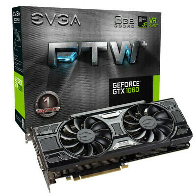 $ CDN184.20 • Buy EVGA GeForce GTX 1060 3GB FTW+ SSC GAMING ACX 3.0, 3GB GDDR5, LED