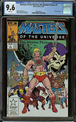 $31 • Buy Masters Of The Universe MTU The Motion Pictures He-Man #1 CGC 9.6 White Pages